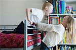 Children playing on bunkbed Stock Photo - Premium Royalty-Free, Artist: Minden Pictures, Code: 614-03902880