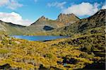 Cradle Mountain and Dove Lake, Cradle Mountain-Lake St Clair National Park, Tasmania, Australia Stock Photo - Premium Rights-Managed, Artist: Jochen Schlenker, Code: 700-03907029