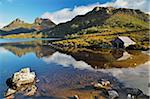 Cradle Mountain and Dove Lake, Cradle Mountain-Lake St Clair National Park, UNESCO World Heritage Area, Tasmania, Australia Stock Photo - Premium Royalty-Free, Artist: Jochen Schlenker, Code: 600-03907289