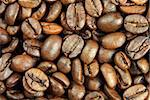 extreme close-up view of coffee beans Stock Photo - Royalty-Free, Artist: AlexStar, Code: 400-03911312