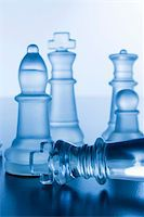 Studio shot of chess pieces Stock Photo - Royalty-Freenull, Code: 400-03920014
