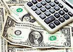 calculator on money Stock Photo - Royalty-Free, Artist: AlexStar, Code: 400-03920565