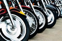 Detail shots of motorcycles. Stock Photo - Royalty-Freenull, Code: 400-03927951