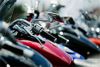 Detail shots of motorcycles. Stock Photo - Royalty-Freenull, Code: 400-03927952