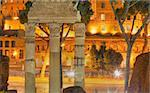 Nightvision of Rome's Forum Stock Photo - Royalty-Free, Artist: Historicus, Code: 400-03934781