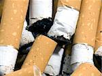 Closeup of cigarette butts Stock Photo - Royalty-Free, Artist: devulderj, Code: 400-03942871