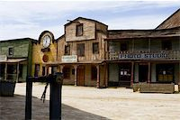 saloon - Western scenery in the south of spain. Stock Photo - Royalty-Freenull, Code: 400-03943827
