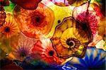Abstract colorful background in a floral theme Stock Photo - Royalty-Free, Artist: barsik, Code: 400-03947327