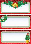 Vector illustration - christmas banners Stock Photo - Royalty-Free, Artist: Jut, Code: 400-03947618