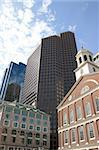 Faneuil Hall and downtown skyline, Boston. Stock Photo - Royalty-Free, Artist: cpenler, Code: 400-03948149