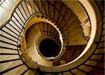 Luxurious Spiral Staircase with Stone Steps Stock Photo - Royalty-Free, Artist: surpasspro, Code: 400-03952852