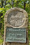 Stone Marker and Plaque at River Source, Winterberg, North Rhine-Westphalia, Germany Stock Photo - Premium Rights-Managed, Artist: Raimund Linke, Code: 700-03958090