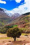 Mountain Village, High Atlas Mountains, South of Marrakesch, Morocco Stock Photo - Premium Rights-Managed, Artist: F. Lukasseck, Code: 700-03958187