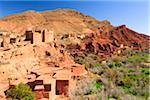 Old Kasbah and Village, Dades Gorge, Morocco Stock Photo - Premium Rights-Managed, Artist: F. Lukasseck, Code: 700-03958239