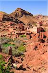 Old Village and Kasbah, Dades Gorge, Morocco Stock Photo - Premium Rights-Managed, Artist: F. Lukasseck, Code: 700-03958240