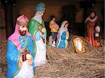 Decoration of nativity scene Stock Photo - Royalty-Free, Artist: bedo, Code: 400-03963330