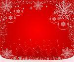 Christmas abstract Background - vector Stock Photo - Royalty-Free, Artist: vanias, Code: 400-03964773