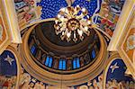 fresco inside of dome in orthodox christian cathedral church Stock Photo - Royalty-Free, Artist: starush, Code: 400-03968001