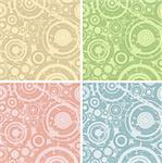 grunge circles illustration; design elements for backgrounds Stock Photo - Royalty-Free, Artist: dip, Code: 400-03970007