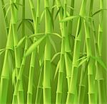 design of bamboo trees, illustration background Stock Photo - Royalty-Free, Artist: dip, Code: 400-03970031