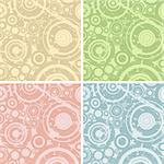grunge circles illustration; design elements for backgrounds Stock Photo - Royalty-Free, Artist: dip, Code: 400-03971885