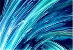 abstract water background generated in the  computer Stock Photo - Royalty-Free, Artist: jonnysek, Code: 400-03972217