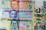 Philippine Peso 500 100 20 currency detail Stock Photo - Royalty-Free, Artist: fiftycents, Code: 400-03973875