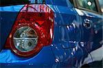 Detail of Latest model Car Rear Lights Stock Photo - Royalty-Free, Artist: fiftycents, Code: 400-03973877