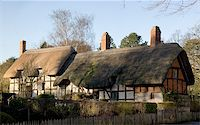 anne hathaways cottage home of william shakespeares wife shottery stratford-upon-avon great britain england uk united kingdom eu Stock Photo - Royalty-Freenull, Code: 400-03975983
