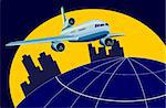 Vector art on air transport Stock Photo - Royalty-Free, Artist: patrimonio, Code: 400-03977704