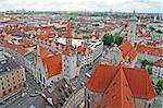 A view of a part of the old town of Munich, Germany Stock Photo - Royalty-Free, Artist: alexandr6868, Code: 400-03986679