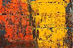 Deteriorating painted brick wall stylized with grunge effects (part of a photo illustration series) Stock Photo - Royalty-Free, Artist: karimala, Code: 400-03992399
