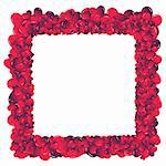 Valentine card. Ideal hearts frame for valentines day portrait. Stock Photo - Royalty-Free, Artist: myper, Code: 400-03994229
