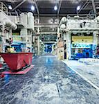 Interior of Automotive Factory Stock Photo - Premium Rights-Managed, Artist: Philip Rostron, Code: 700-04003322