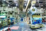 Interior of Automotive Factory Stock Photo - Premium Rights-Managed, Artist: Philip Rostron, Code: 700-04003325