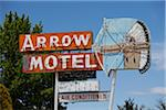Motel Sign, Espanola, New Mexico, USA Stock Photo - Premium Rights-Managed, Artist: Ed Gifford, Code: 700-04003363