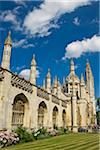 King's College and King's College Chapel, University of Cambridge, Cambridge, England Stock Photo - Premium Rights-Managed, Artist: JW, Code: 700-04003404