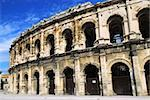 Roman arena in city of Nimes in southern France Stock Photo - Royalty-Free, Artist: Elenathewise, Code: 400-04003808