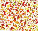 Digital Autumn Background in High resolution 3D Stock Photo - Royalty-Free, Artist: fiftycents, Code: 400-04007154
