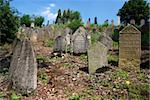 Ancient jewish cemetery from 15th century Stock Photo - Royalty-Free, Artist: Fyletto, Code: 400-04009846