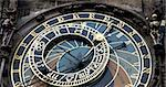 Astronomical clock in Prague in Czech republic with skeleton Stock Photo - Royalty-Free, Artist: Fyletto, Code: 400-04009865