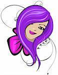 girl Stock Photo - Royalty-Free, Artist: katyau, Code: 400-04009896
