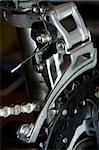 Mountain bike  front derailleur Stock Photo - Royalty-Free, Artist: naumoid, Code: 400-04011053