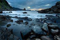 Rocks in Gaztelugatxe's San Juan, Bizkaia (Spain) Stock Photo - Royalty-Freenull, Code: 400-04023569