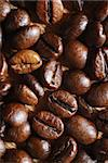 roasted brown  coffee beans. ingredient background Stock Photo - Royalty-Free, Artist: casaalmare, Code: 400-04032249