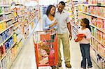 Mother refusing to buy product for child in supermarket Stock Photo - Royalty-Free, Artist: MonkeyBusinessImages, Code: 400-04035992