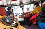 Firefighters travelling to an emergency Stock Photo - Royalty-Free, Artist: MonkeyBusinessImages, Code: 400-04036436