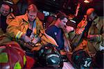 Firefighters preparing for an emergency situation Stock Photo - Royalty-Free, Artist: MonkeyBusinessImages, Code: 400-04036462