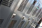 Closed lockers in a fire station Stock Photo - Royalty-Free, Artist: MonkeyBusinessImages, Code: 400-04036464