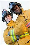 Portrait of firefighters Stock Photo - Royalty-Free, Artist: MonkeyBusinessImages, Code: 400-04036474